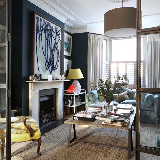 Victorian Living Room: HOME – Victorian Terrace With A Splash Of Colour!